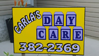 Carla's Daycare 2  spots available in Parkridge area