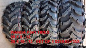 ATV TIRES, ITP, MAXXIS,BIGHORN,MUDLITE,WANDA,JOURNEY