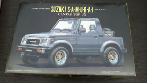 PLASTIC SCALE MODEL KITS - SUZUKI SAMURAI & MORE!!!!!!!!!!!!!!!!