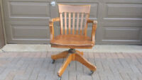 Banker's Chair for Sale