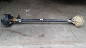 Trailer Axle Assy 3500#