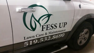 FESS UP Lawn Care & Maintenance