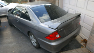 2005 Civic Si-G 2 door coupe