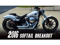 Harley Davidson soft ail breakout