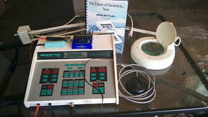 electrolysis machine and accessories