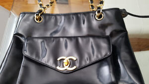 Authentic Chanel Patent Leather bag