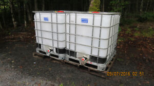 Totes, Water Tanks, Containers 1040 L NEW Food Grade