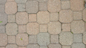 Interlock paving stones - vintage design