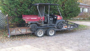 WOW $ 6500  was 7,500  4 seat kawasaki mule 620 cc only 280 hr