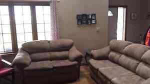 Couch and love seat need to go!