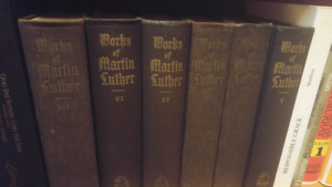 Works of Martin Luther - 6 volumes