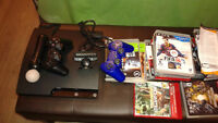 PS 3 with all the games you can ever play