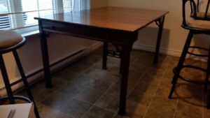 Antique table (sits up to 6)