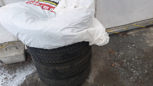 Set of 4 summer tires almost new