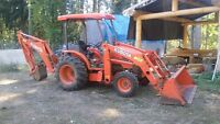 Truck ,Tractor / Backhoe Front End Loader and Operator for Hire