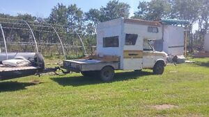 2007 car/equipment hauler and 1976 motorhome/toyhauler