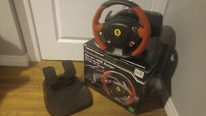 Thrustmaster Ferrari 458 Spider Xbox One Racing Wheel w/ Pedals