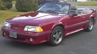 89 Mustang GT Convertible for sale