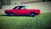1968 Plymouth Barracuda Fully Restored Beauty