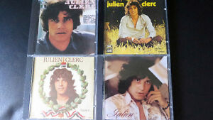 Collection Julien Clerc\Hervé Vilard\Beatles Capitol V1-2+rouge