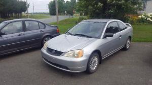 2001 Honda Civic Coupe (2 door)