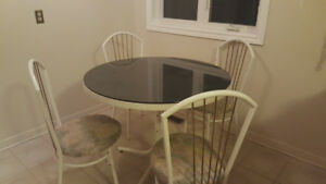 Dining Table and Chairs $100 OBO