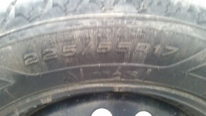 225 55 17 winter tires and rims