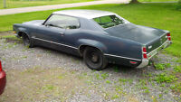 1970 Oldsmobile Delta 88 Coupe - 455 BB - Solid running project!