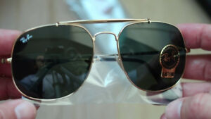 RAY BAN LE GENERAL NEW , ORIGINAL , GOLD : RB 3561