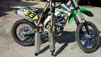 kx250f 2012 exhaust and 2013 exhaust