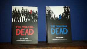The Walking Dead graphic hardcover book 1 & 2 London Ontario image 1