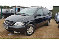 Chrysler Voyager LHD Left Hand Drive 6 Seater