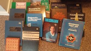 Text Books = $3 each or all 14 for $30