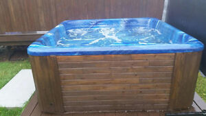 Hot tub for sale ! Works great. Brand new pump. New cover St. John's Newfoundland image 3