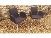 Office Chairs 2x, v study, great support - Ikea Patrik (£90 when new)