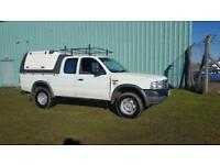 2003 03 PLATE FORD RANGER 2.5 TURBO KING CAB. 4X4 PICK-UP DIESEL