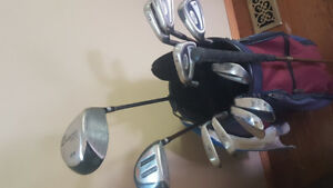 Golf Clubs for Sale (Left)