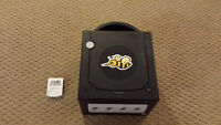 Gamecube Black with Bee Sticker - USED - And 4mb save card