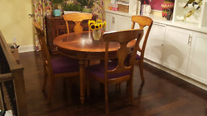 9 pc Solid Wood Dining Set Peterborough Peterborough Area image 2