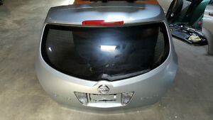 2003 2004 NISSAN MURANO SL AWD SILVER TAILGATE TRUNKLID