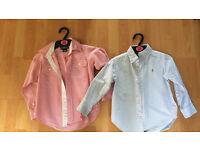 Boys Ralph Lauren shirts