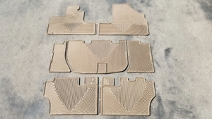 Weathertech 2005-2010 Honda Odyssey all weather floor mats