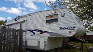 5th Wheel -Sprinter 27'
