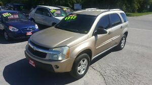 2007 CHEVROLET EQUINOX SUV *** ALL WHEEL DRIVE *** CERT $4995
