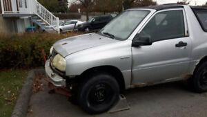 2002 Suzuki Vitara Coupé (2 portes)