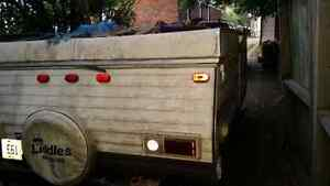Pop up trailer out convert to utility trailer