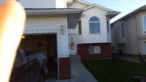 3 bedroom house with 2 car garage