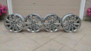 2006 - 2010 Ford Edge rims with sensors $80 OBO
