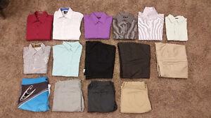 Dress Shirts, Dress Pants, Swim Trunks and Casual Shorts