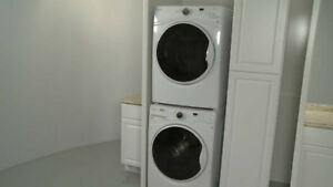 Stackable Washer. Stackable Dryer. Combo
